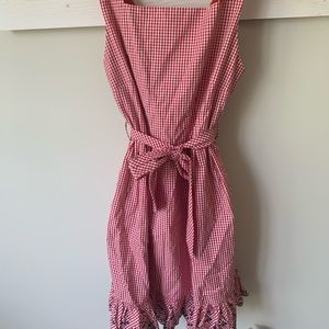 P&K Peg and Kris boutique gingham dress sz 4